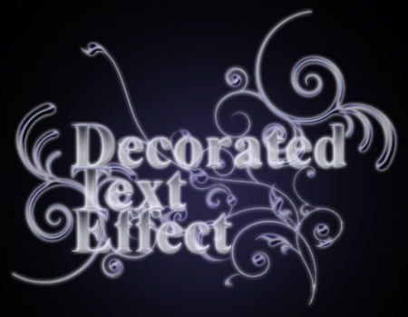 Decorated Text Effect