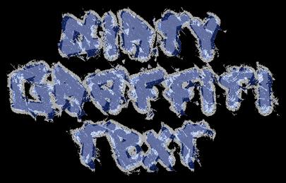 Dirty Graffiti Text