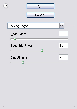 Glowing Edges Settings