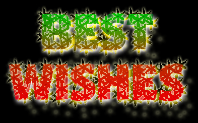 Christmassy Text
