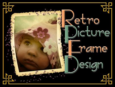 Retro Picture Frame Design