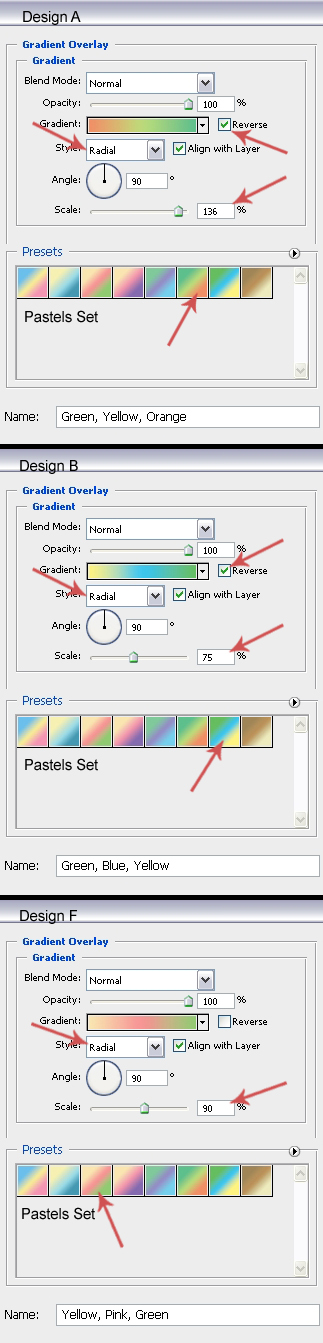 Gradient Overlay Settings