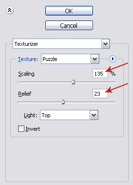 Puzzle Texture Settings