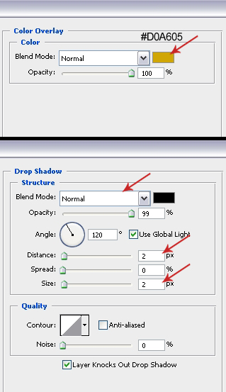Blending Options Settings