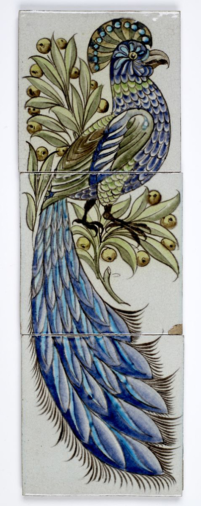 William de Morgan Tile Design