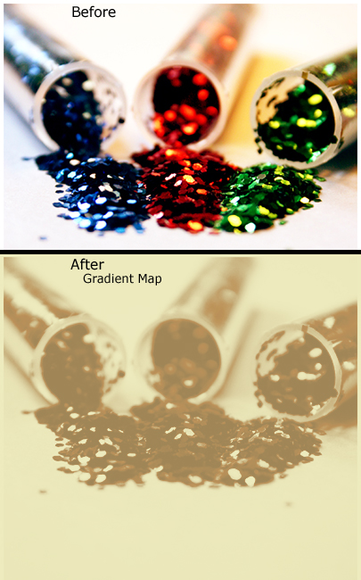 Gradient Map Adjustment