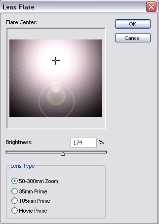Lens Flare Settings