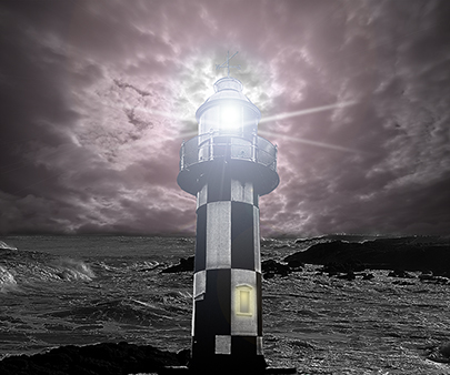 Lighthouse Photo Manipulation