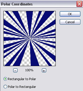Polar Coordinates Settings