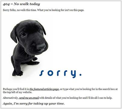 davidairey.com 404 Error Page