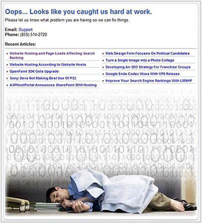 devwebpro.com 404 error page