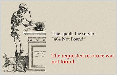 kilianmuster.com 404 Error Page