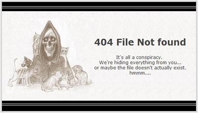 scythe.net 404 Error Page