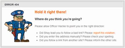 shayhowe.com 404 Error Page
