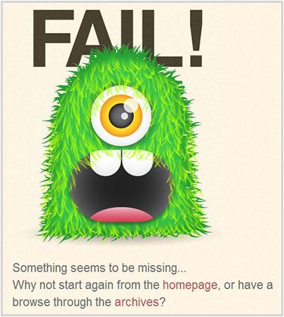 blog.spoongraphics.co.uk 404 Error Page