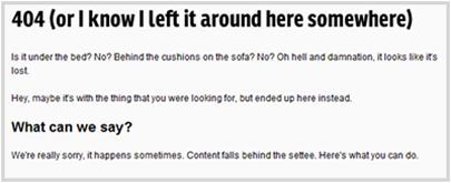 stuffandnonsense.co.uk 404 Error Page