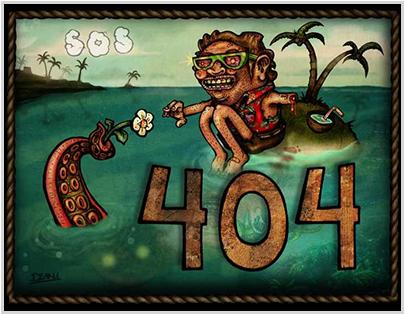 surfingonstatic.com 404 Error Page