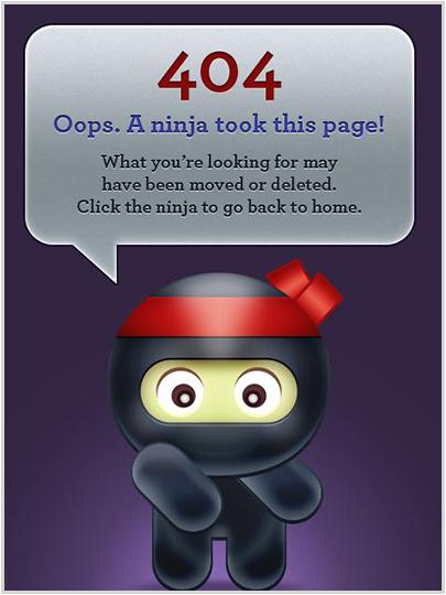 toffeenutdesign.com 404 Error Page