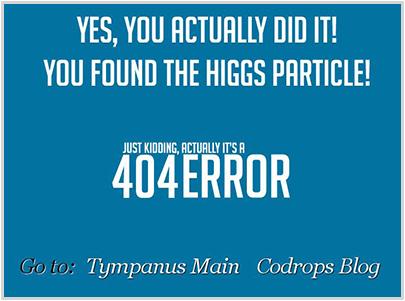 tympanus.net 404 Error Page